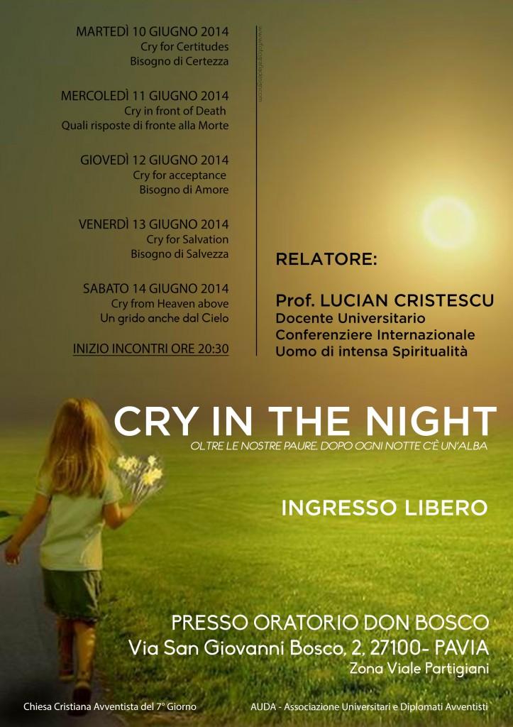 Pavia - Conferenze Pastore Cristescu